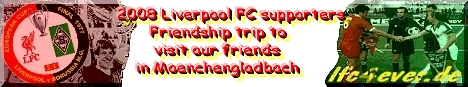 Friendship trip to visit our friends from Borussia Moenchengladbach